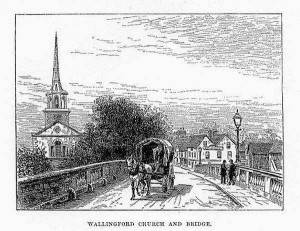 Wallingford bridge and StP 1890s
